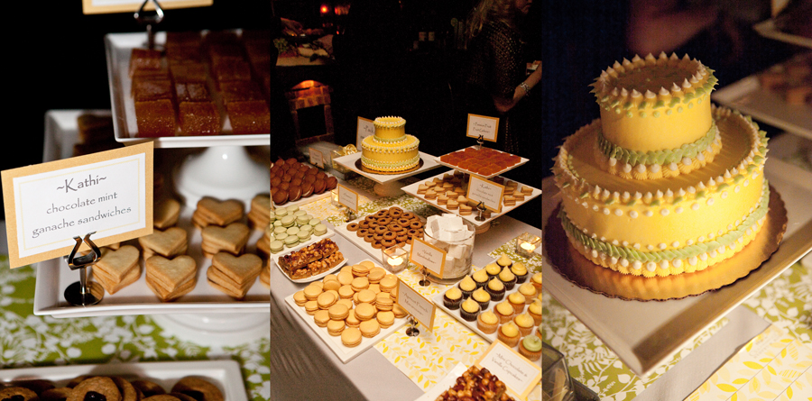 Dessert Bar and Wedding Cake